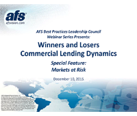 Winners and Losers: Commercial Lending Dynamics