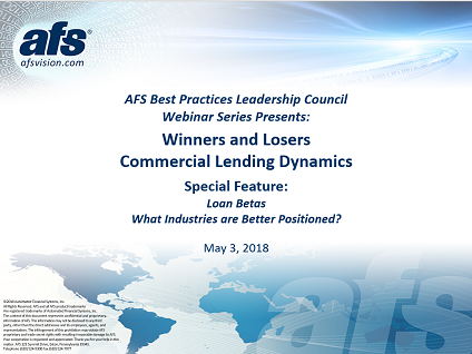 Winners and Losers: Commercial Lending Dynamics 1Q18