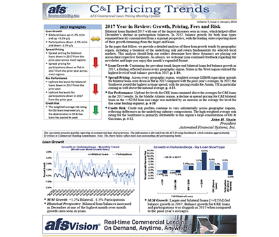 C&I Pricing Trends Newsletter January 2018